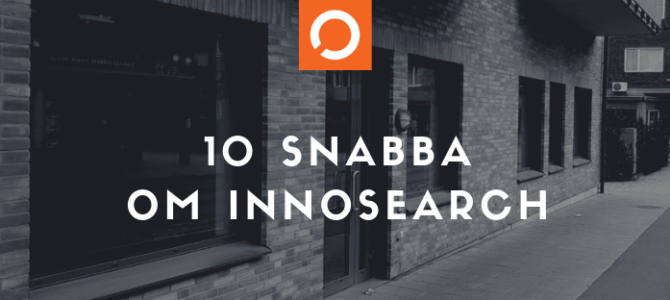 10 snabba om InnoSearch