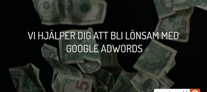 Bli lönsam med Google AdWords
