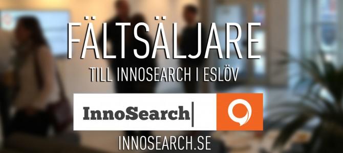InnoSearch söker driven fältsäljare till kontoret i Eslöv