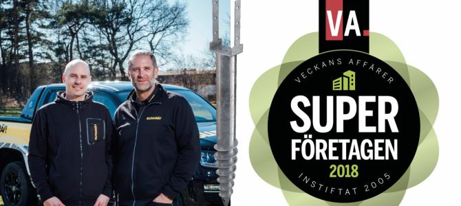 Våra kunder Sluta Gräv utsågs till Årets Superföretag